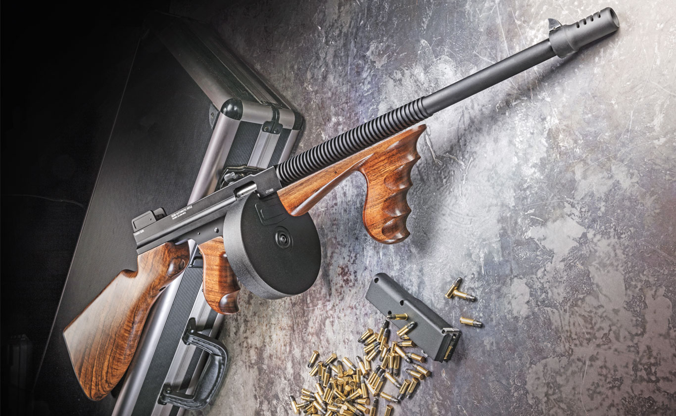 Review: Standard Manufacturing 1922  22-Caliber Tommy Gun