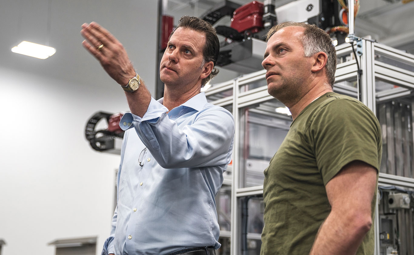 Chris Tedford, True Velocity's chief operations officer, steps the author through production in the new state-of-the-art facility.