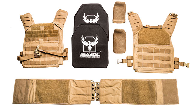UHMWPE Armor with the Valkyrie Plate Carrier