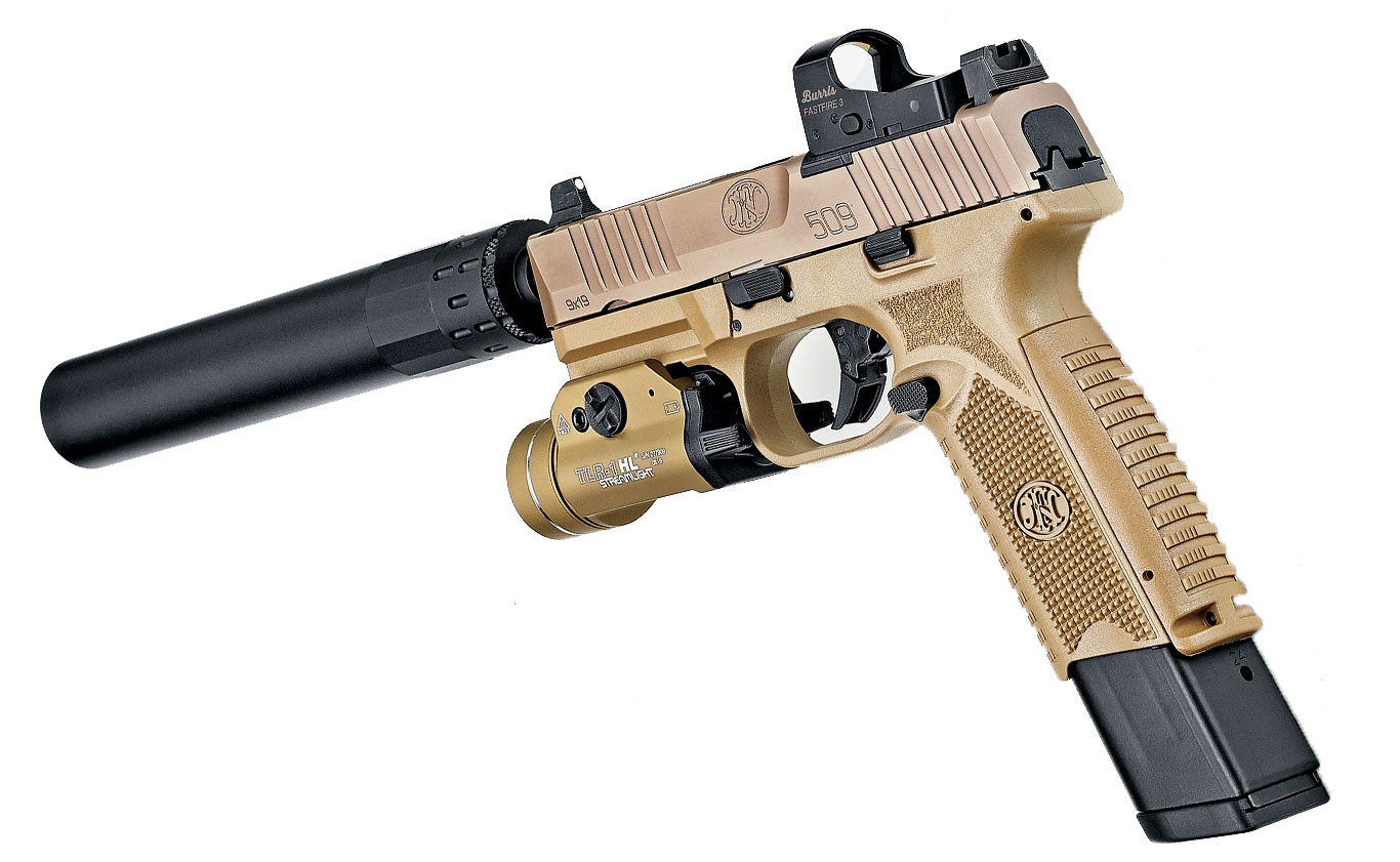 The FN 509 Tactical was Spec'd for Uncle Sam. Now it's made for us.