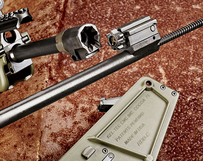 The rifle's overall length measures only 30.4 ­inches. It feels great between the hands and offers excellent maneuverability.