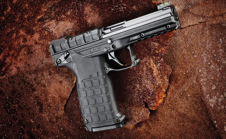 The Kel-Tec PMR-­30 is an accurate .22 Mag. that feeds from a 30-­round magazine.