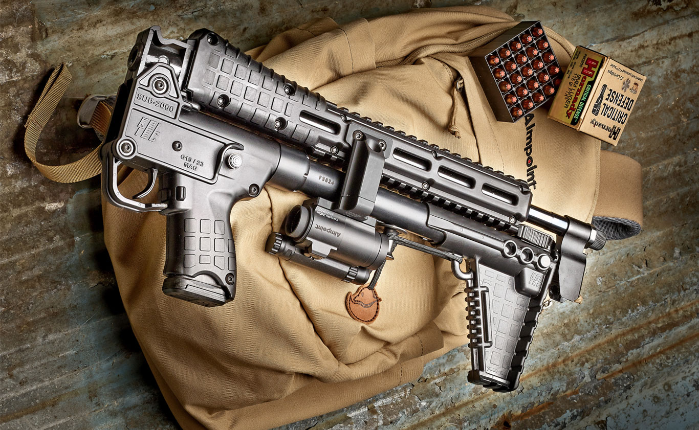 The Kel-Tec Sub-2000 PCC Packs Performance into a Small Package.