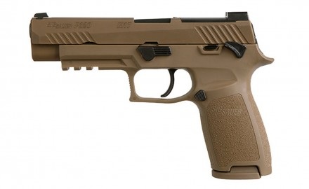 SIG SAUER, Inc. introduces the commercial variant of the U.S. Army's M17 official service pistol called the P320-M17.