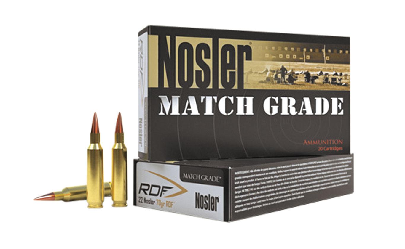 Nosler RDF Match Grade