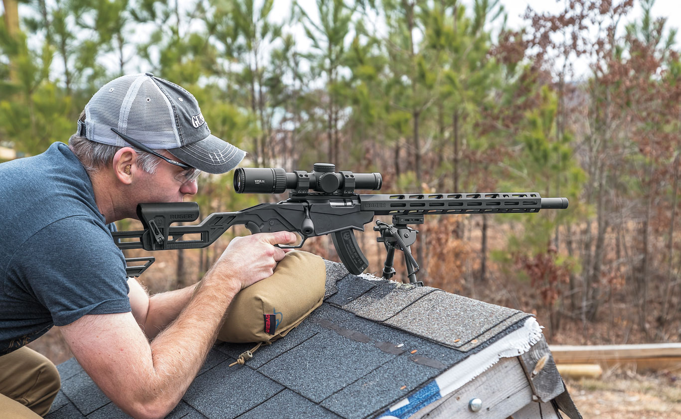 Shooting off obstacles and from positions other than prone are good ways to advance one's shooting skills. The more a rifleman learns to solve problems, the better they'll get at it.