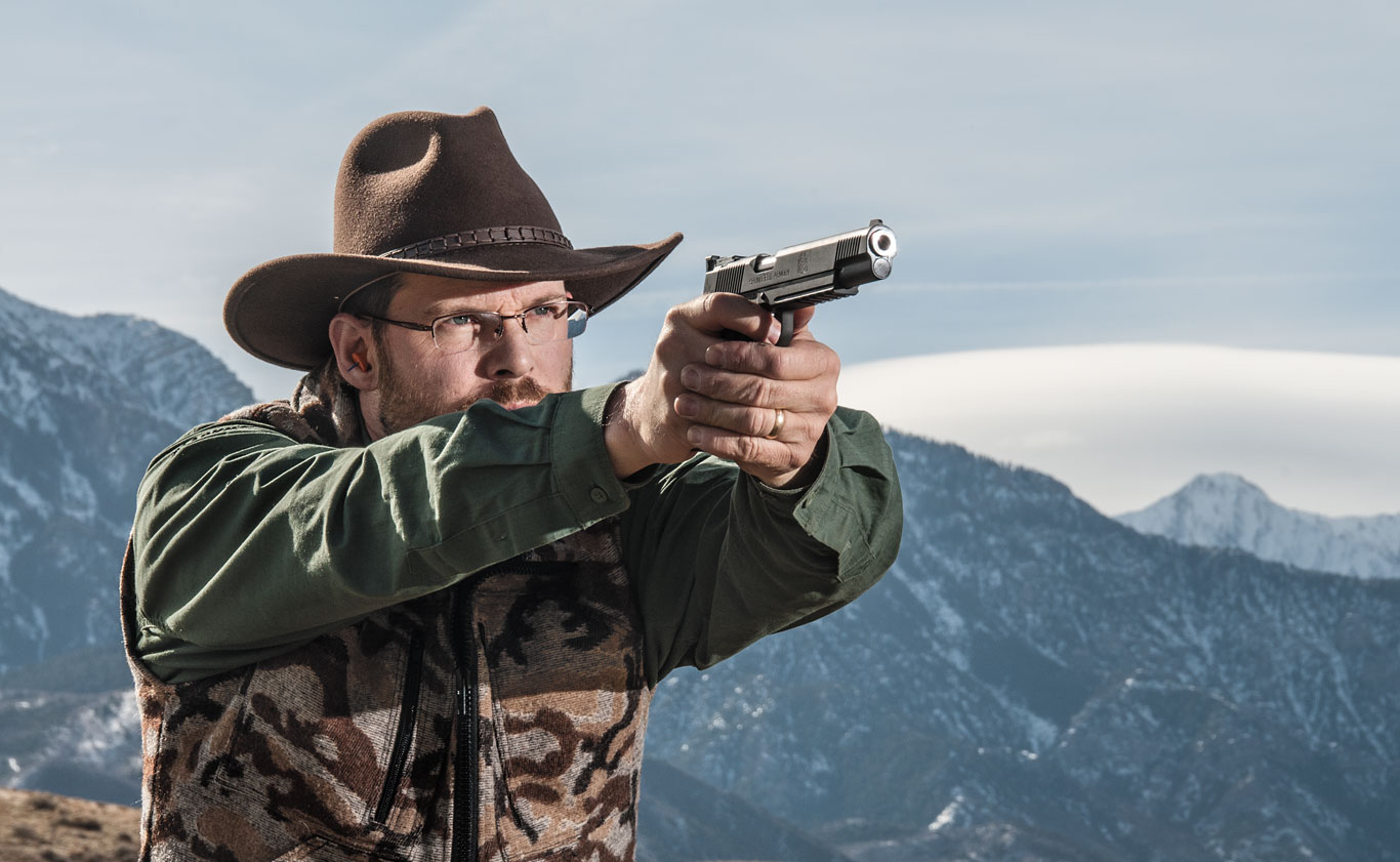 Springfield Armory's longslide TRP man­ages the hottest 10mm loads and mitigates felt recoil considerably.