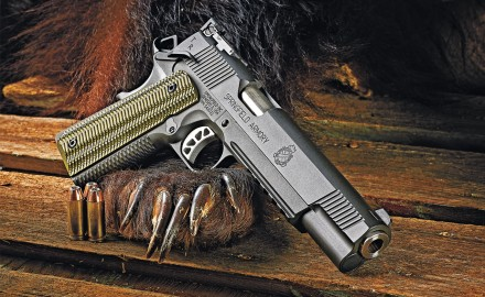 The Springfield Armory Tactical Response Pistol (TRP) is a top-­shelf successor to John Browning's design that features the latest refinements.