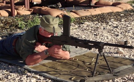 Garry James talks with gunsmith Glenn Fleming about one of the most famous light machine guns of
