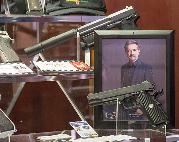 Joe Mantegna's Criminal Minds SIG SAUER 1911 Now In NRA Exhibit