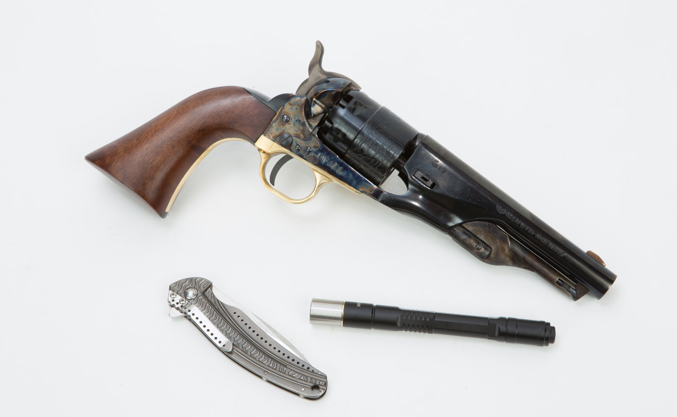 For whatever reasons, a lot of people are interested in using cap and ball revolvers for self-defense.