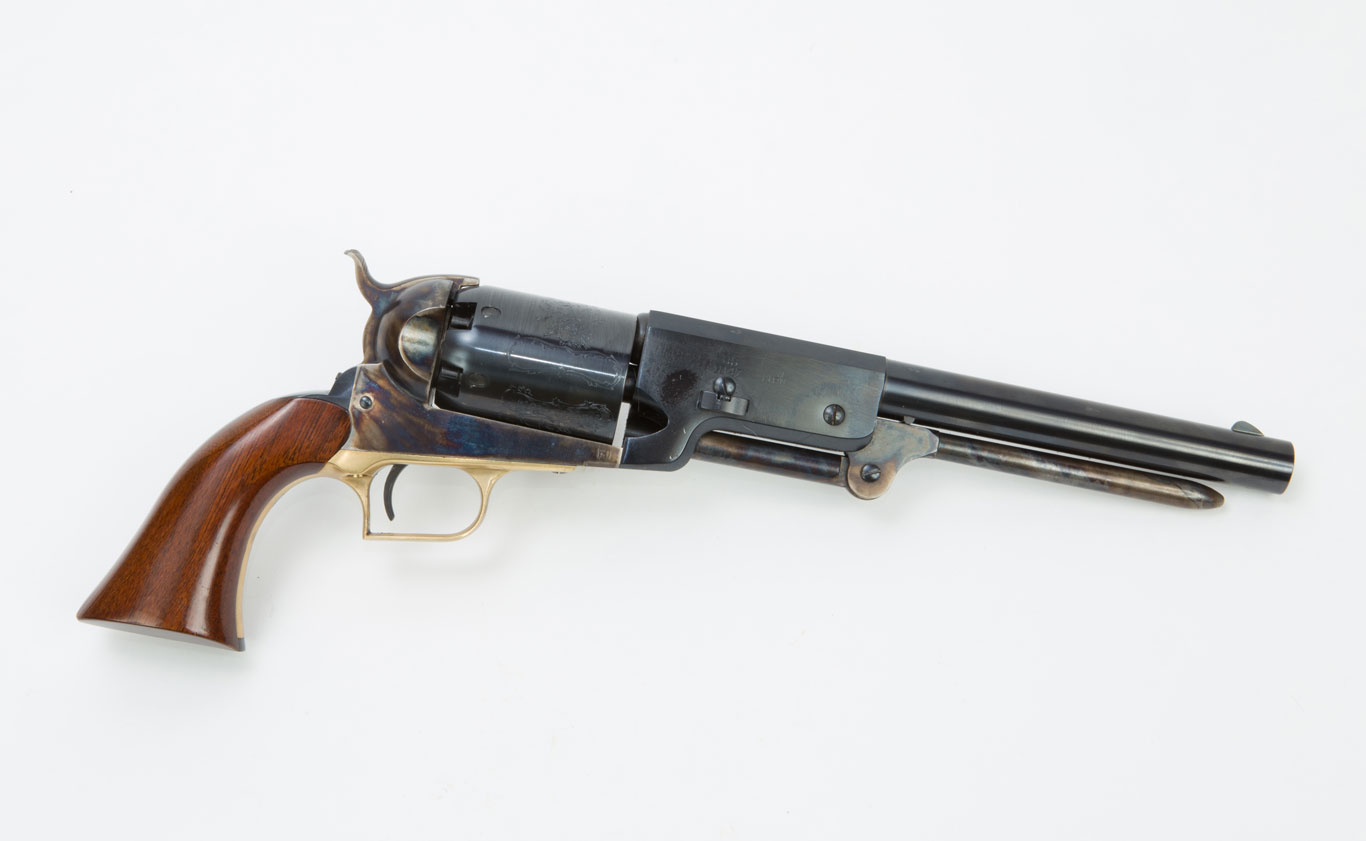 For pure ballistic reasons, the .44 caliber Walker revolver is the most effective cap and ball.