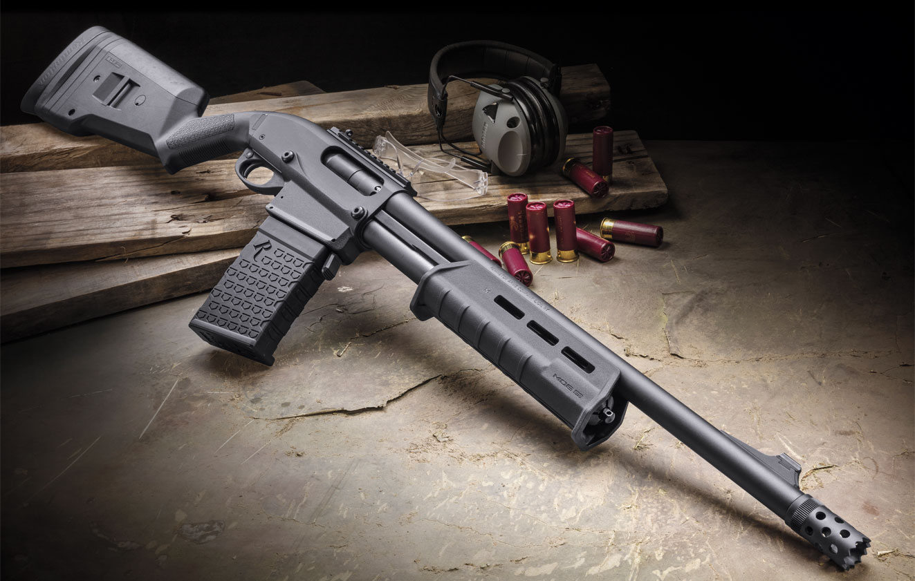 Reload and respond faster with the Remington 870 DM Magpul 12 Gauge shotgun.