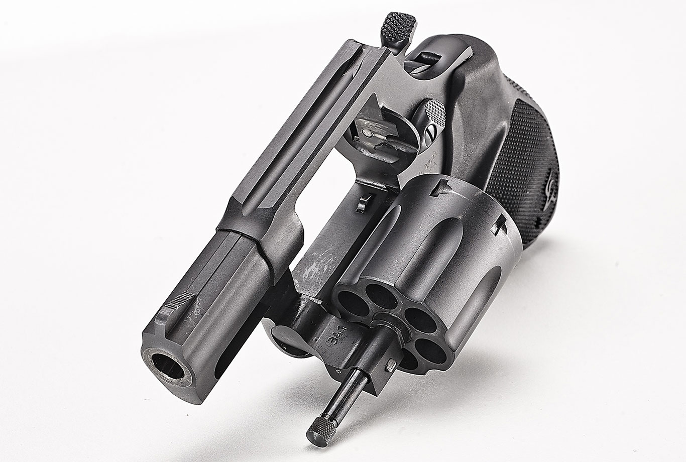 The UL 856, by Taurus, is a six-shot, 2-inch barreled .38 Special that is just over 6.5 inches long and 1.41 inches wide.