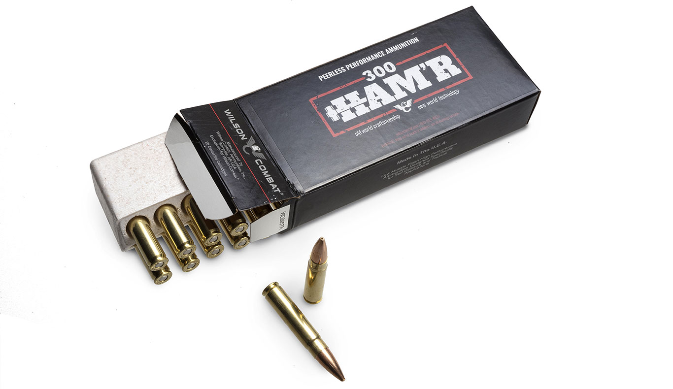 The .300 HAM'R case is .040-inch longer than the 7.62x40mm WT and .260-inch longer than the .300 BLK.