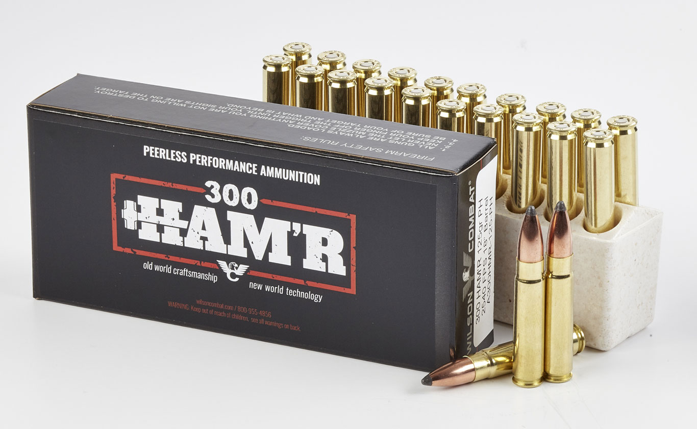 Wilson Combat's new .300 HAM'R is to the .300 Blackout (BLK) what the .300 Win. Mag. is to the .308 Win.