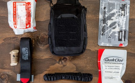 The joint 5.11 Tactical and the North American Rescue UCR IFAK kit is a must have for any range bag, car trunk or residence.