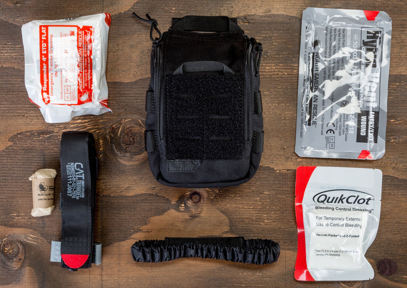Every shooter should carry a medical kit that can treat a gunshot wound until medics can arrive.