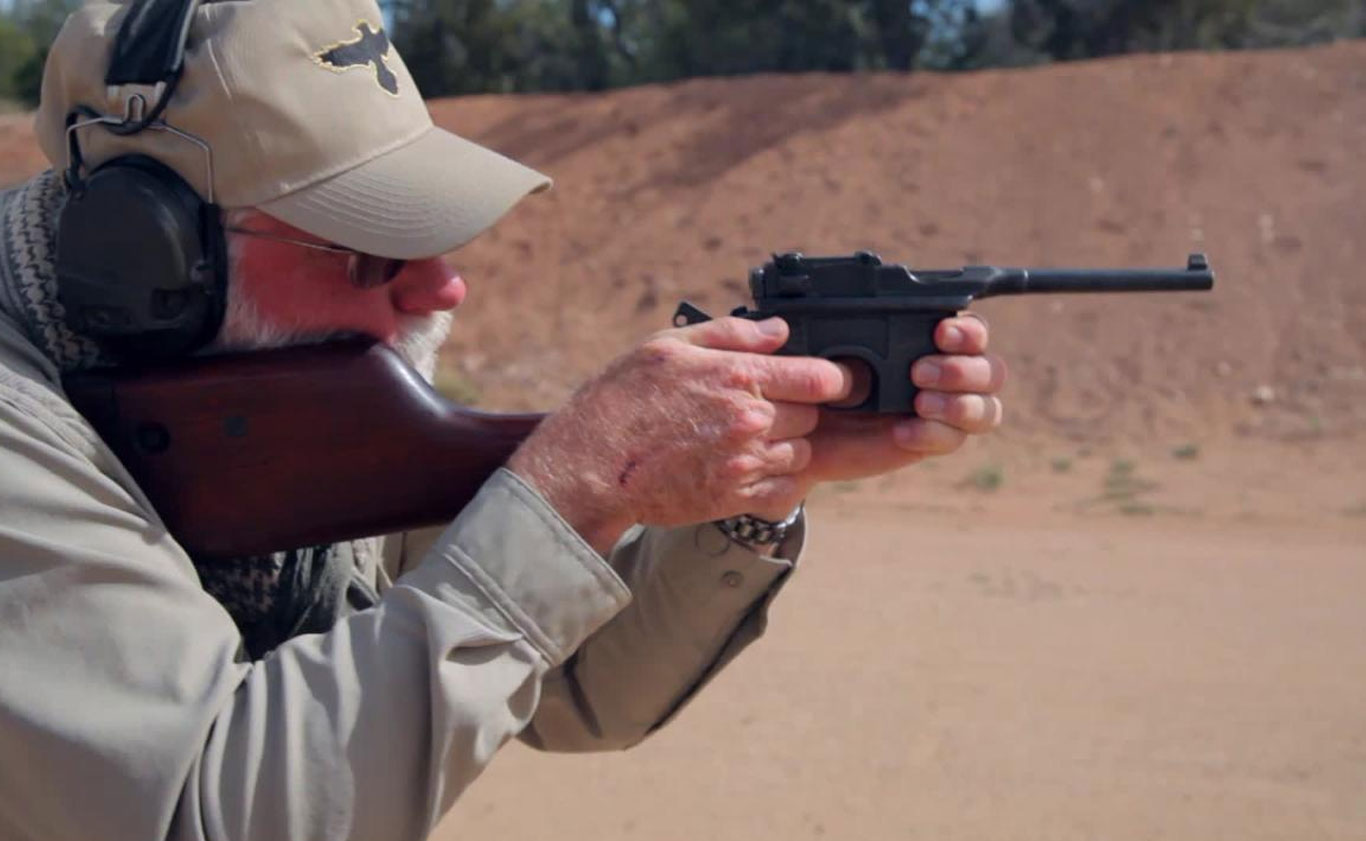 Mauser C96 Broomhandle- 'Gun Stories'