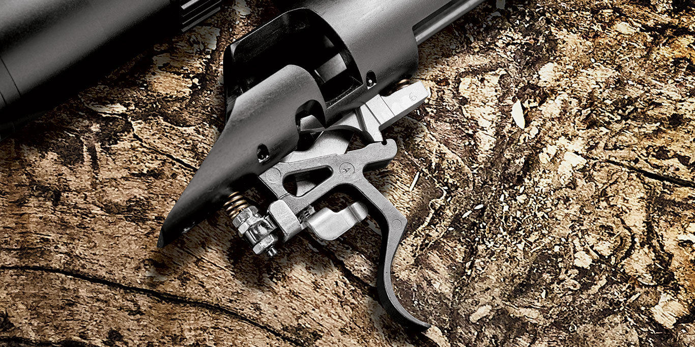 The Compass' single-stage trigger measured a clean 31/2 pounds on Lyman's Digital Trigger Pull Gauge. However, it is user-adjustable once the stock has been removed.