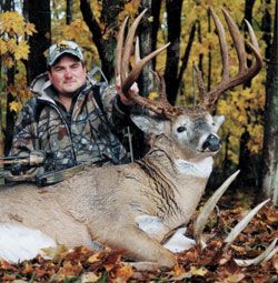 How do you get lucky on big whitetail bucks? You serve your time at hard labor.