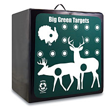 Big Green Targets is a new company producing targets that are made from 100% recycled materials.