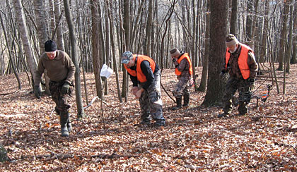 A Bowhunter's Guide To Blood-Trailing Deer