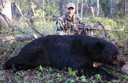"Some hunters say hunting bears over bait doesn't take a lot of skill, but this hunter says, ""Who cares?"""