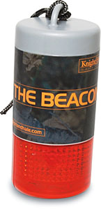 The Beacon II ($24.99) is a handy locator light used to mark your stand tree, ground blind, or downed game so you can find them quickly day or night.