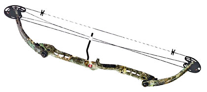 The new PSE Mojo is a 40-inch bow available with your choice of the company's NRG Hy-brid cam or the NRG one-cam system