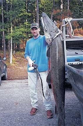 Hunter Day Yukon >> Bowhunter - Bowfishing for Giants!