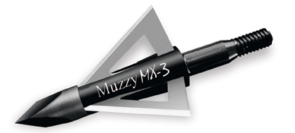 By Brian Fortenbaugh              Muzzy broadheads have been the favorites of