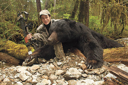 What do long-distance runners and trophy black bear bowhunters have in common? Everything.
