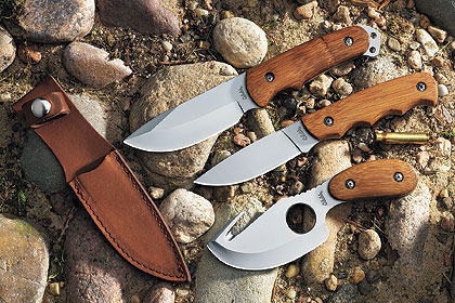 Cabela's Bamboo Hunter Knives