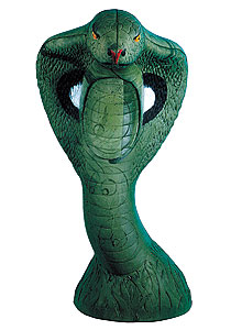 By Staff Report              There's no need to fear Rinehart's new Green Cobra 3-D