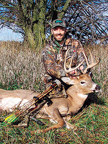 Why travel to distant places when the best whitetail hunting might lie right outside your own back door?