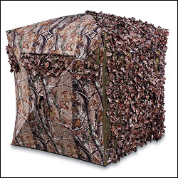 By Brian Fortenbaugh              Ameristep's Choice Hybrid Ground Blind ($300) lets