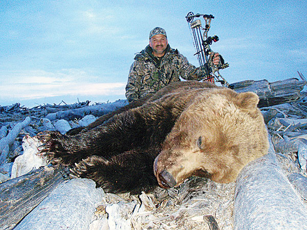 I'd spent a lifetime envisioning taking a grizzly with my bow, but never in my wildest dreams did I expect to kill one of this magnitude.