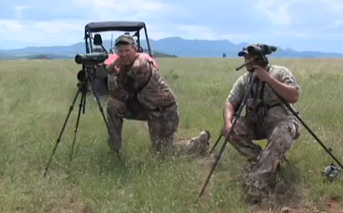 The hunting is tough for Bowhunter Equipment editor Curt Wells as he takes a crack at hunting