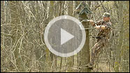 Hanging a treestand safely and without commotion means using both hands. Here are some tips and