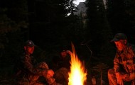 Campfire At Washout Creek