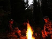Campfire At Washout Creek