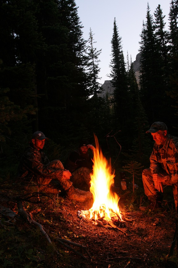 Campfire At Washout Creek  Well, here we go — my first entry into the outdoor blogosphere. Yeah,