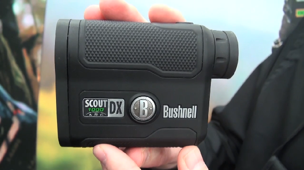 Bushnell introduced its brand new laser rangefinder at the 2013 ATA Show, the Bushnell Scout DX