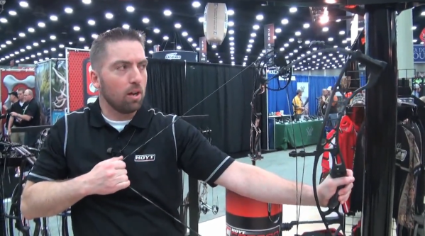 Hoyt Archery introduced the brand new Hoyt Spyder during the 2013 ATA Show at Louisville, Ky.