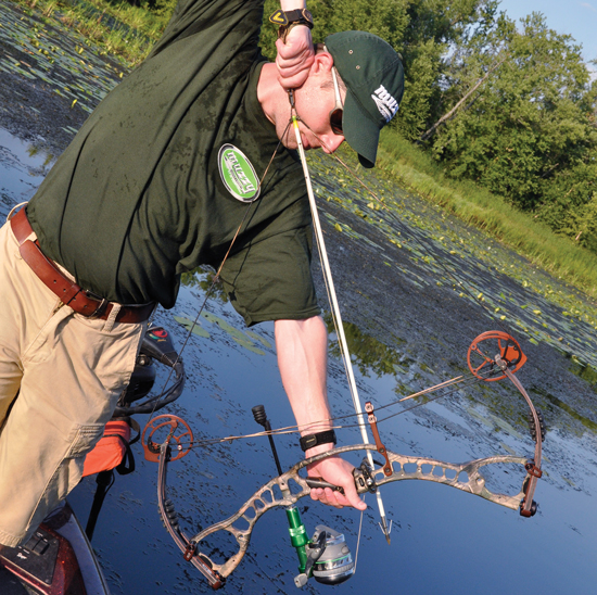 I know some serious bowhunters that would never consider bowfishing, just as they wouldn't be