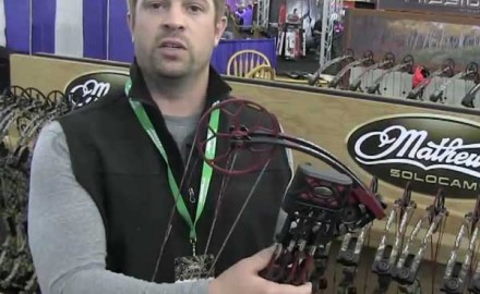 Mathews hosted the 2013 Mathews Retailer Show in Wisconsin Dells, Wisc., and was there to show off