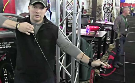 Mathews was at the 2013 Mathews Retailer Show in Wisconsin Dells, Wisc., to show off one of its