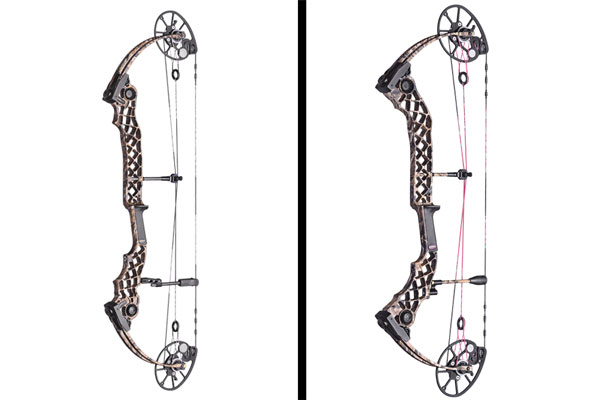 Mathews introduced two new bows to its lineup, the Monster Chill X (left) and Chill SDX.