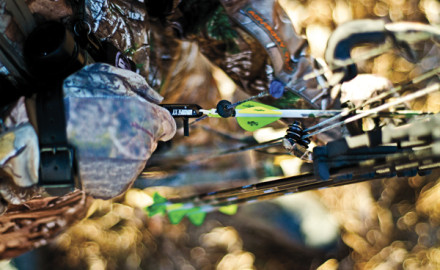 Of the two points where hunters engage their compound bow, the grip hand has the most effect on